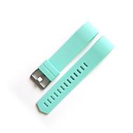 Недорогие Аксессуары для смарт-часов-Ремешок для часов для Fitbit Charge 2 Fitbit Современная застежка Фторэластомер Повязка на запястье