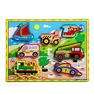 Pædagogisk legetøj Puslespil Legetøj Tog Bil Hestevogn Motorcykel Bus Lastbil Nyhed Drenge Pige 8 Stk.