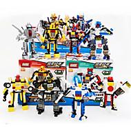 Figurki i zabawki pluszowe Klocki na prezent Klocki Czołg Okret wojenny Wojownik Myśliwiec Helikopter Robot 5-7 lat 8-13 lat 14 lat i