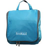 olcso Utazás-Utazótáska Helytakarékos kompressziós zsákok Szépségápolási táska Párásodás gátló Vízálló Összecsukható Nagy kapacitás Több funkciós