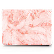 roze veren patroon macbook computer case voor de MacBook air11 / 13 pro13 / 15 pro met retina13 / 15 macbook12