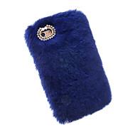Назначение iPhone X iPhone 8 iPhone 7 iPhone 7 Plus iPhone 6 Чехлы панели Стразы Задняя крышка Кейс для Сплошной цвет Мягкий Текстиль для