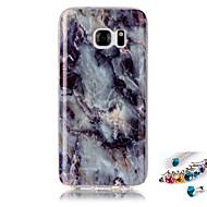 tanie Galaxy S5 Etui / Pokrowce-Kılıf Na Samsung Galaxy S7 edge S7 IMD Wzór Etui na tył Marmur Miękkie TPU na S7 edge S7 S6 edge S6 S5 S4 S3