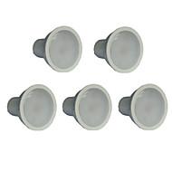 お買い得  LED スポットライト-7W 550-600 lm GU10 LEDスポットライト MR16 21 LEDの SMD 2835 温白色 AC 100-240V