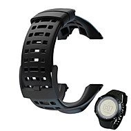 Недорогие Аксессуары для смарт-часов-Ремешок для часов для SUUNTO AMBIT 2 Suunto Спортивный ремешок Pезина Повязка на запястье