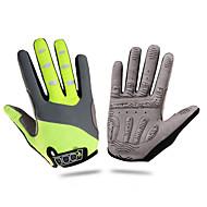 ROCKBROS Rękawiczki sportowe Rękawiczki rowerowe Keep Warm Wiatroodporna Zdatny do noszenia Wearproof Odporny na wstrząsy Odprowadzające