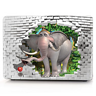 elefante padrão caixa do computador MacBook 3D para macbook air11 / 13 pro13 / 15 pro com retina13 / 15 macbook12