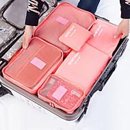 お買い得  収納&整理-繊維 プラスチック 楕円形 旅行 ホーム 組織, 1個 ストレージ用袋