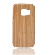 Mert Other Case Hátlap Case Egyszínű Kemény Bambusz mert Samsung Note 5 / Note 4