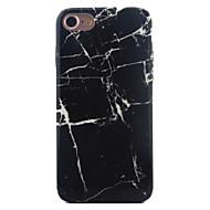Недорогие Кейсы для iPhone 8-Кейс для Назначение Apple iPhone X iPhone 8 iPhone 6 iPhone 7 Plus iPhone 7 С узором Кейс на заднюю панель Мрамор Мягкий ТПУ для iPhone X