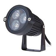 abordables Luces de Jardín-3w llevó la lámpara ac85-265v césped al aire libre pequeño triángulo de casquillo