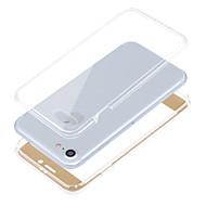 お買い得  -ケース 用途 Apple iPhone 8 iPhone 8 Plus iPhone 6 iPhone 7 Plus iPhone 7 耐衝撃 フルボディーケース 純色 ソフト TPU のために iPhone 8 Plus iPhone 8 iPhone 7 Plus