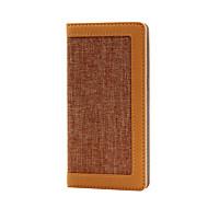 economico Custodie / cover per Samsung-Custodia Per Samsung Galaxy S7 edge S7 Porta-carte di credito A portafoglio Con supporto Con chiusura magnetica Integrale Tinta unica