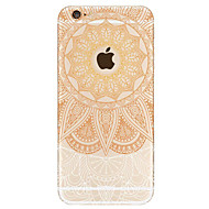 Na iPhone 7 iPhone 6 Etui Pokrowce Wzór Etui na tył Kılıf Mandala Twarde Akrylowy na Apple iPhone 7 iPhone 6s iphone 6
