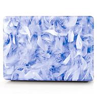 niebieskie pióra wzór macbook komputer przypadku MacBook air11 / 13 pro13 / 15 Pro z retina13 / 15 macbook12