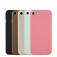 お買い得  Benks-のために 超薄型 / つや消し ケース バックカバー ケース ソリッドカラー ハード PC のために Apple iPhone 7プラス / iPhone 7