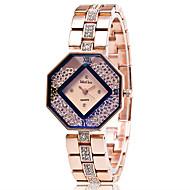 Xu™ Dame Moteklokke Krystallklokke Armbåndsur Quartz Legering Band Vintage Fritid Gylden