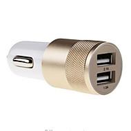 Auto-Ladegerät Other 2 USB-Ports mit Kabel Für Mobiltelefon(5V , 2.1A)