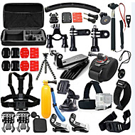 cheap Sports Cameras & Accessories For GoPro-Accessory Kit For Gopro Waterproof / 46 in 1 / Adjustable For Action Camera Gopro 5 / Xiaomi Camera / Gopro 4 Diving / Surfing / Ski / Snowboard PVC(PolyVinyl Chloride) / ABS - 46 pcs / Gopro 3