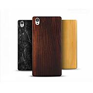 お買い得  携帯電話ケース-ケース 用途 OnePlus OnePlusケース パターン バックカバー 木目 ハード PC のために