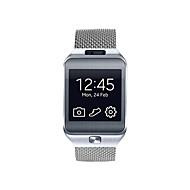 cheap Smartwatch Accessories-Watch Band for Gear 2 R380 Samsung Galaxy Milanese Loop Stainless Steel Wrist Strap