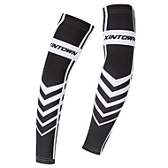 cheap -XINTOWN Sleeves Black / White Winter Breathable Quick Dry Ultraviolet Resistant Fishing Cycling / Bike Motobike / Motorcycle Men's Women's Unisex Elastane Terylene / Stretchy / Sweat-wicking