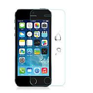 お買い得  iPhone用スクリーンプロテクター-1枚 スクリーンプロテクター のために 傷防止 ハイディフィニション(HD) / 防爆 iPhone SE / 5s / 5