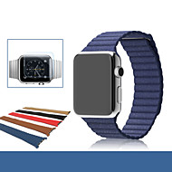 Klockarmband för Apple Watch Series 3 / 2 / 1 Handledsrem Läderloop