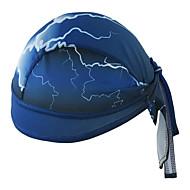 Xintown kask astar kapak coolskin kafatası başlık sweatband bisiklet yüzme tırmanma erkekler kadın bisiklet kapak - mavi
