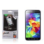 высокая прозрачность матовый экран ЖК-протектор с Ткань для очистки для Samsung Galaxy S5 (3 шт)