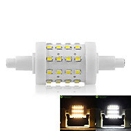 cheap LED Corn Lights-5W R7S LED Corn Lights Recessed Retrofit 36 SMD 2835 450-500 lm Warm White Cold White 3000-3500  6000-6500 K Dimmable AC 85-265 V