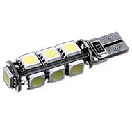 お買い得  -SO.K T10 車載 電球 1 W ハイパフォーマンスLED 13 インテリアライト