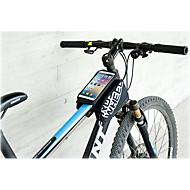 billige -ROSWHEEL Mobilveske Vesker til sykkelramme 5.5 tommers Reflekterende Stripe Vanntett Regn-sikker Anvendelig Berøringsskjerm Telefon/Iphone