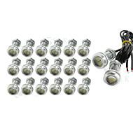 20 x 9W LED ojo de águila de niebla del coche luz diurna DRL revertir el estacionamiento de reserva 12v señal