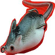 お買い得  釣り用アクセサリー-1 pcs ソフトベイト / ルアー マウス ソフトプラスチック 3D 海釣り / 川釣り