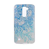 お買い得  携帯電話ケース-ケース 用途 LG G3 LG K8 LG LG K10 LG K7 LG G5 LG G4 パターン バックカバー 曼荼羅 ソフト TPU のために LG V20 LG V10