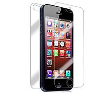 [7-Pack] Μπροστά και πίσω Retina Προστατευτικό οθόνης για iPhone 5/5S