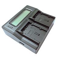 ismartdigi VBG130 260 LCD Dual зарядное устройство с кабелем для зарядки в автомобиле для Panasonic VBG130 260 Аккумуляторы камеры