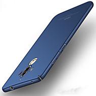 olcso Mobiltelefon tokok-Case Kompatibilitás Huawei Ultra-vékeny Fekete tok Tömör szín Kemény PC mert Mate 9 Huawei