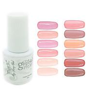 yemannvyou®sequins de color de uñas de gel UV no.37-48 polaco (5 ml, colores surtidos)