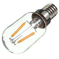 Χαμηλού Κόστους LEDΛάμπες με Νήμα Πυράκτωσης-2W E14 LED Λάμπες Πυράκτωσης S14 2 leds COB Διακοσμητικό Θερμό Λευκό 170lm 2700K AC 220-240V