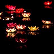 λωτού ημέρα δώρο του Αγίου Βαλεντίνου που επιθυμούν λάμπα κερί αναθήματα κυμαινόμενο χρώμα γενέθλια κερί λάμπα φανάρι νερό διακόσμηση