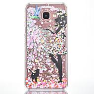 tanie Galaxy A7(2016) Etui / Pokrowce-Na Etui Pokrowce Z płynem Wzór Etui na tył Kılıf Seksowna dziewczyna Twarde PC na Samsung Galaxy A7(2016) A5(2016)
