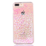 Custodia Per Apple iPhone 8 / iPhone 8 Plus / iPhone 7 Liquido a cascata Per retro Glitterato Resistente PC per iPhone 8 Plus / iPhone 8 / iPhone 7 Plus