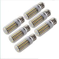 E27 LED-pallolamput T 72 ledit SMD 5730 Koristeltu Lämmin valkoinen 300lm 3000K AC 220-240V