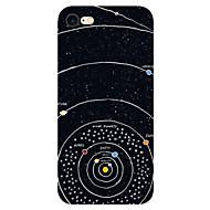 Недорогие Кейсы для iPhone 8-Назначение iPhone X iPhone 8 iPhone 7 iPhone 7 Plus iPhone 6 Чехлы панели Ультратонкий С узором Задняя крышка Кейс для Цвет неба Пейзаж