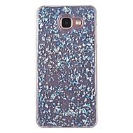 Кейс для Назначение SSamsung Galaxy A5(2016) A3(2016) Защита от пыли С узором Задняя крышка Сияние и блеск Мягкий TPU для A5(2016)