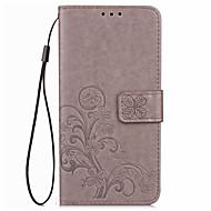 Для Кошелек Бумажник для карт Кейс для Чехол Кейс для Один цвет Мягкий Искусственная кожа для LG LG Nexus 5 LG Nexus 5X LG V20