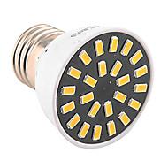 お買い得  LED スポットライト-1個 4W 400-500lm E26 / E27 LEDスポットライト MR16 24 LEDビーズ SMD 5733 装飾用 温白色 クールホワイト 110-130V 220-240V