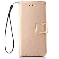 Для Чехлы панели Кошелек Бумажник для карт со стендом Флип Чехол Кейс для Один цвет Твердый Искусственная кожа для SamsungJ7 (2016) J5